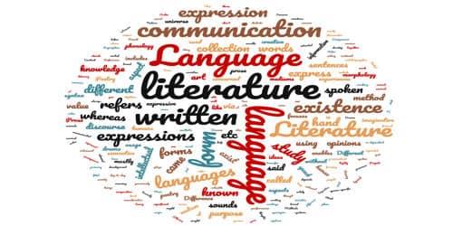 Contrast between Literature and Language- Zoefact