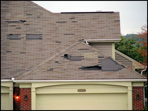 Three Types of Roof Damage and their signs